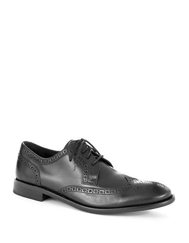 JOHN VARVATOS U.S.A.Hallowell Leather Wingtip Oxfords