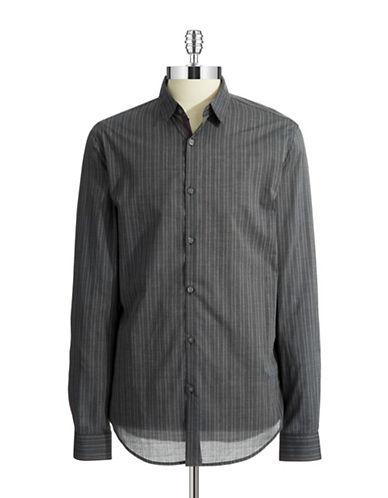 JOHN VARVATOS U.S.A.Slim Fit Patterned Sport Shirt