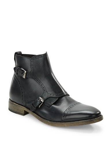 JOHN VARVATOS U.S.A. Stanley Leather Ankle Boots