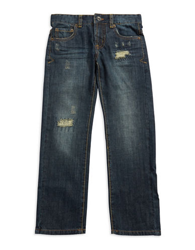 LUCKY BRANDBoys 8-20 Distressed Jeans