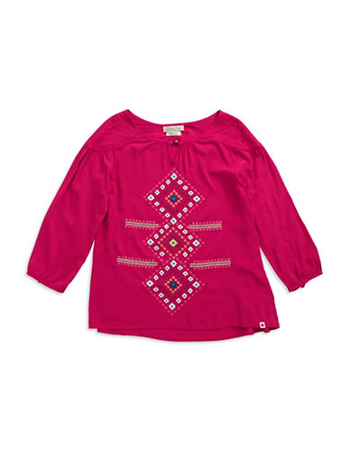 LUCKY BRANDGirls 7-16 Embroidered Top