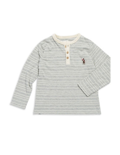 LUCKY BRANDBoys 2-7 Striped Henley Shirt
