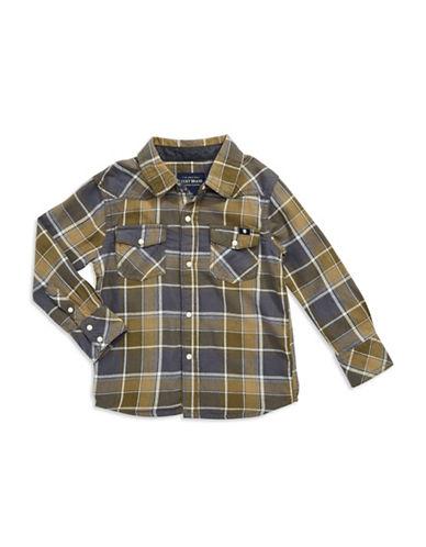 LUCKY BRANDBoys 2-7 Plaid Sport Shirt