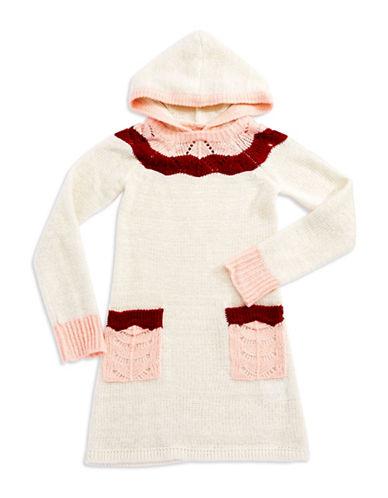 LUCKY BRANDGirls 7-16 Hooded Sweater Dress