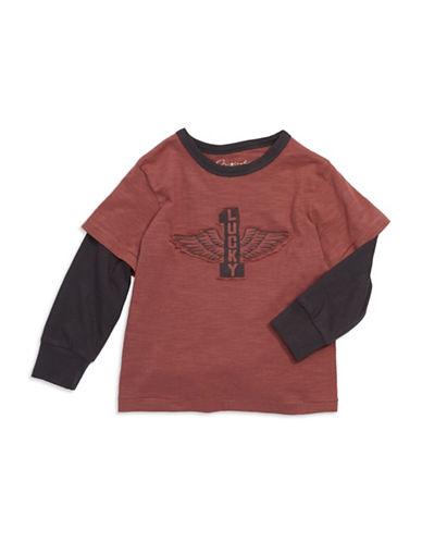 LUCKY BRANDBoys 2-7 Mock Layered T Shirt