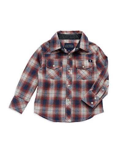 LUCKY BRANDBoys 2-7 Western Button Down Shirt