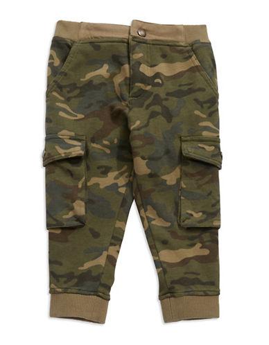 Lucky Brand Boys 8-20 Camo Print Knit Jogger Pants
