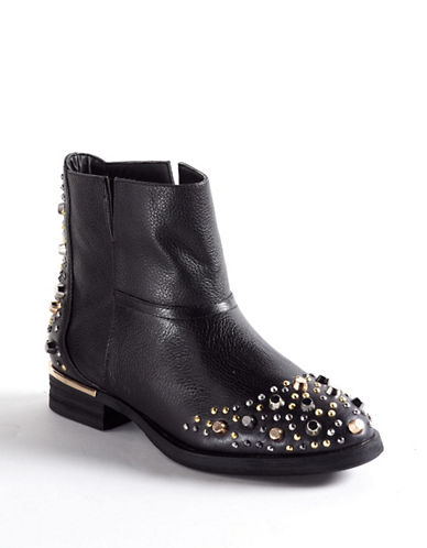 MODERN VICE Madge Leather Studded Boots