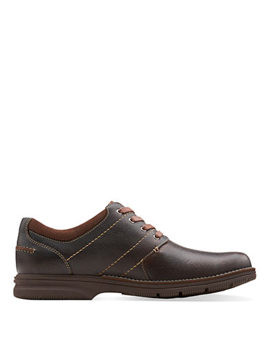 CLARKSSenner Place Leather Sneakers