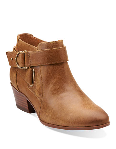 CLARKSSpye Belle Leather Ankle Boots