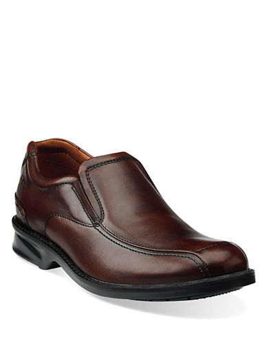 CLARKSColson Knoll Leather Loafers