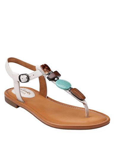 CLARKSIndira Pompano T-Strap Sandals
