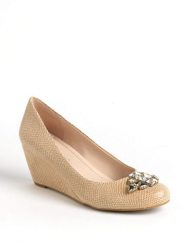 BCBGENERATIONTreese Suede Wedge Pumps