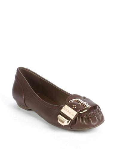 BCBGENERATIONDylann Buckle-Toe Loafers