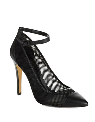 BCBGENERATION Cynthia Transparent Suede Pumps