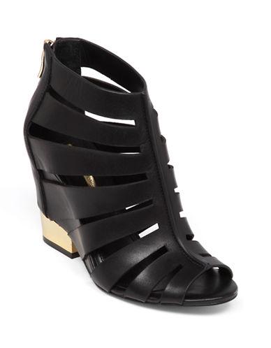 BCBGENERATIONCharlie Leather Wedge Sandals