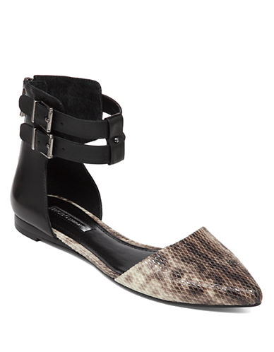 Shop Bcbgeneration online and buy Bcbgeneration Tenyana Leather Flats shoes online