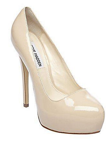 STEVE MADDEN Yasmin Leather Pumps