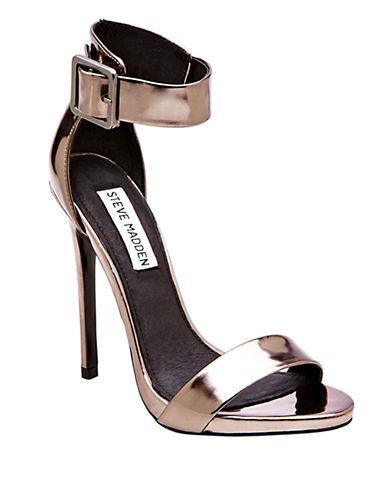 STEVE MADDENMarlenee Leather Open Toe Sandals