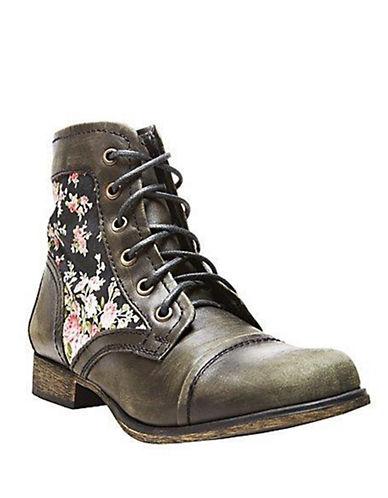 STEVE MADDENTrustt Leather Ankle Boots