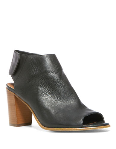 STEVE MADDEN Nonstp Leather Mules
