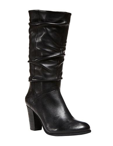 Shop Steve Madden online and buy Steve Madden Lorreta High-Heel Leather Boots shoes online