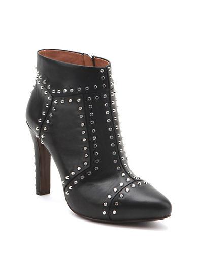UNITED NUDERivet Studded Leather Heeled Booties