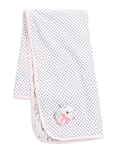 ABSORBAPolka Dot and Cat Patterned Blanket
