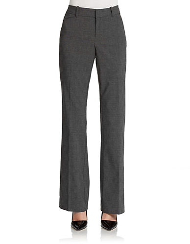 LORD & TAYLOR Kelly Bootcut Trousers