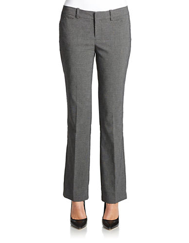 LORD & TAYLOR Petite Kelly Bootcut Trousers