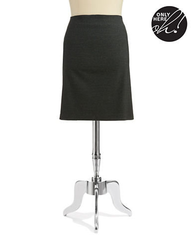 LORD & TAYLORPlus Houndstooth Pencil Skirt