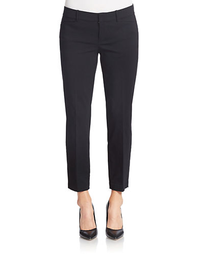 LORD & TAYLOR Solid Ankle Pants