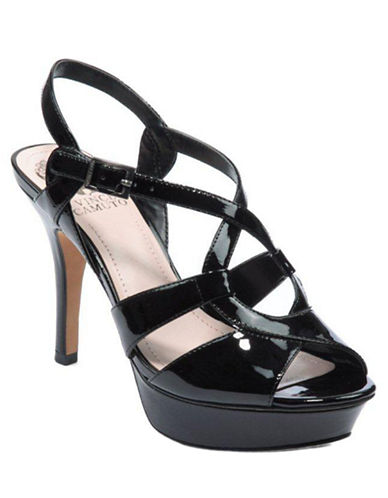 Padrita Patent Leather High-Heel Sandals