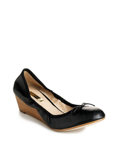 LOUISE ET CIEAymee Leather Wedges