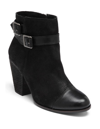 VINCE CAMUTO Hasia Suede Ankle Boots