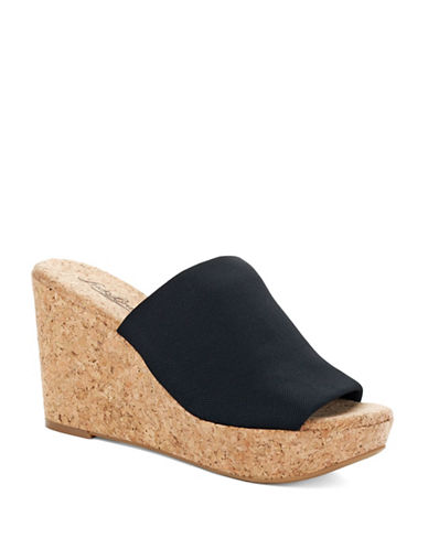 LUCKY BRAND Marilyn Cork Wedge Sandals