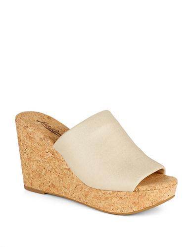 LUCKY BRANDMarilyn Cork Wedge Sandals