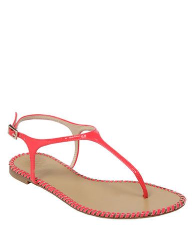 VINCE CAMUTOAdrelin Patent Leather Sandals