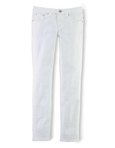 Ralph Lauren Childrenswear Girls 7-16 Stretch Cotton Skinny Jeans