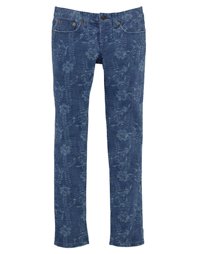 RALPH LAUREN CHILDRENSWEARGirls 7-16 Denim Skinny Jeans