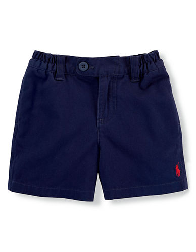 Ralph Lauren Childrenswear Baby Boys Vintage Varsity Shorts