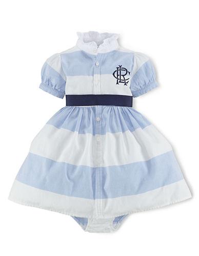 Ralph Lauren Childrenswear Baby Girls Cotton Oxford Shirtdress