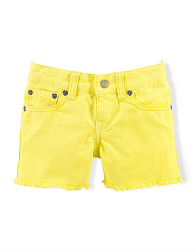 RALPH LAUREN CHILDRENSWEARGirls 2-6x Embroidered Shorts