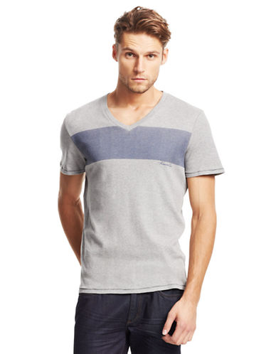 KENNETH COLE NEW YORKDot Stripe T-Shirt