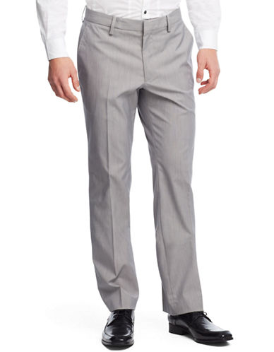 KENNETH COLE NEW YORKStraight-Leg Flat Front Pants