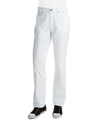 KENNETH COLE NEW YORK Straight Leg Jeans