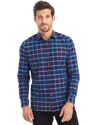 KENNETH COLE NEW YORKGraphic Check Sport Shirt