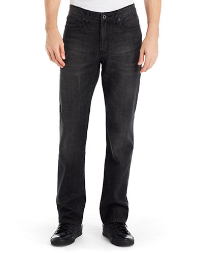 KENNETH COLE NEW YORKFaded Straight Leg Jeans