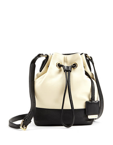 KENNETH COLE NEW YORKNevins Leather Small Bucket Bag