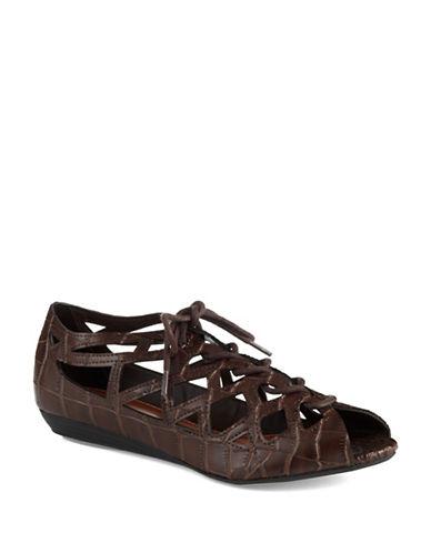 MIALiz Wedge Peep-Toe Sandals